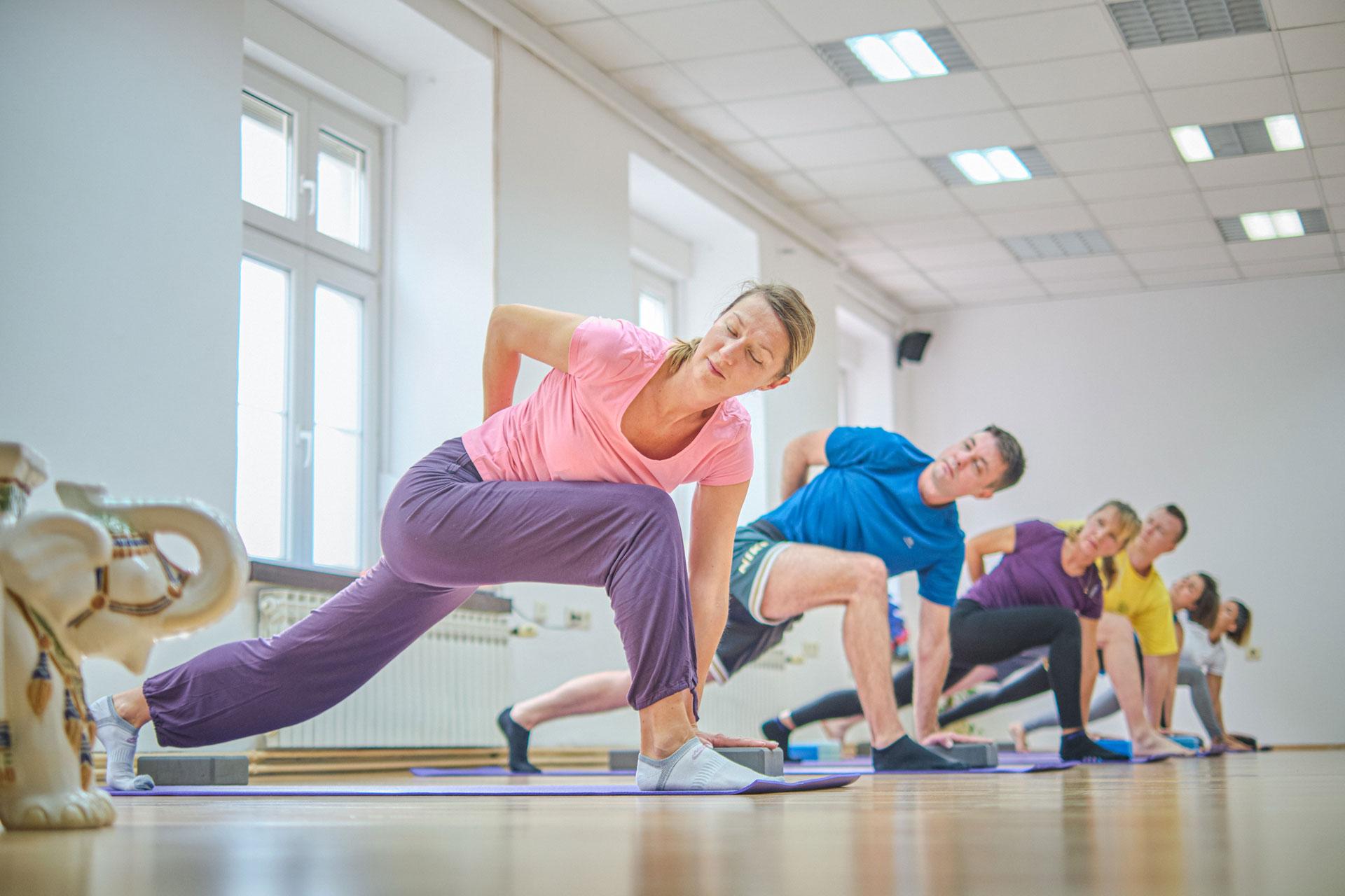 Govinda - mjesto svjesnog pokreta i daha - grupno vježbanje joge